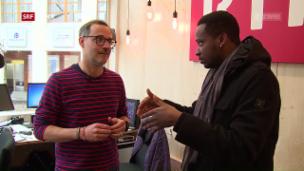 Video «Charles Nguela im Rätisch-Kongo» abspielen