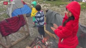 Video «FOKUS: Flüchtlingselend in Idomeni» abspielen
