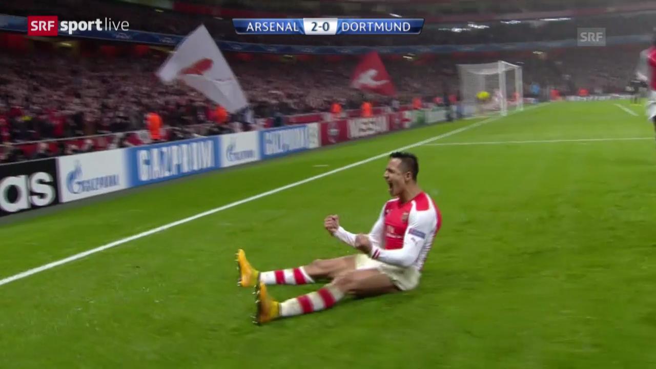 Zusammenfassung Arsenal-Dortmund