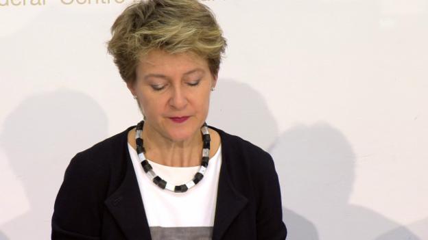 Video «Sommaruga: «Zusammenarbeit verstärken»» abspielen