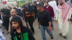 Video «Saudi-Arabien vollstreckt umstrittene Todesurteile» abspielen