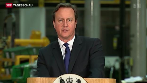 Video «Cameron plant neue Einwanderungsregeln» abspielen
