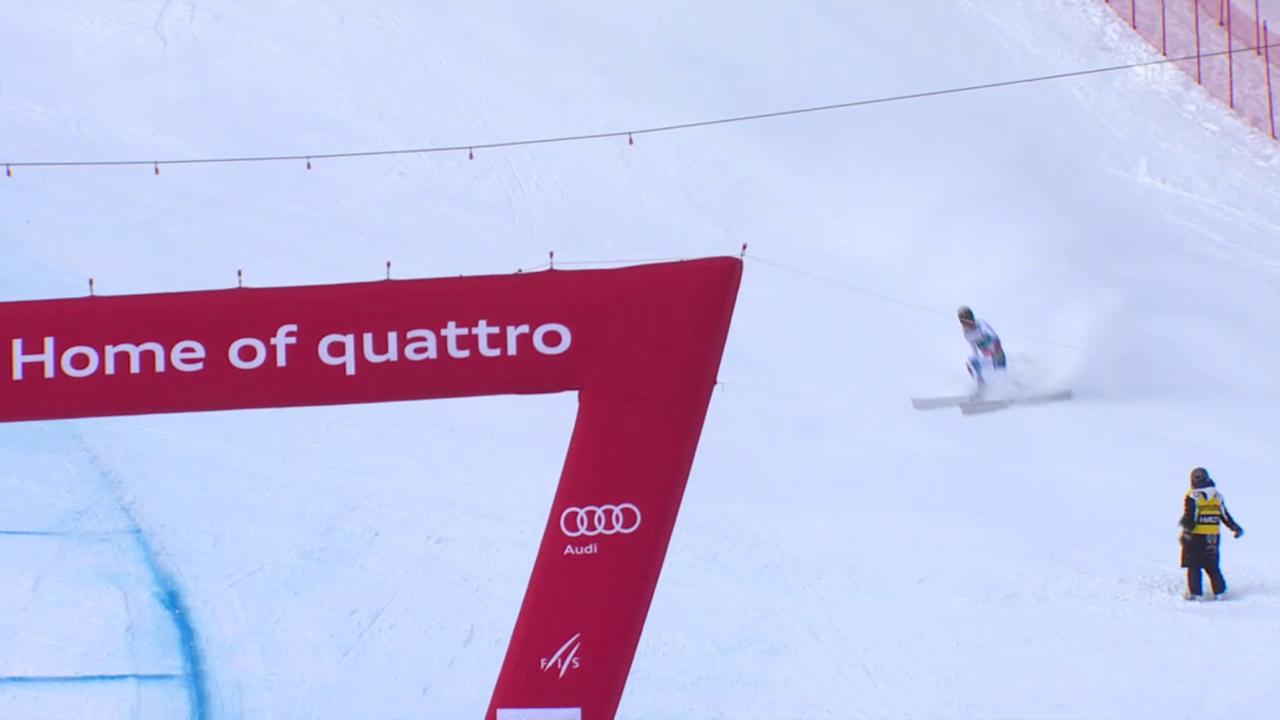 Ski: Ausfall Fabienne Suter