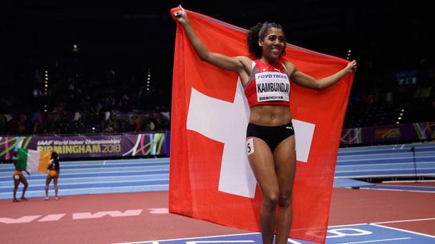 Darüber freut sich Kambundji in der Schweiz