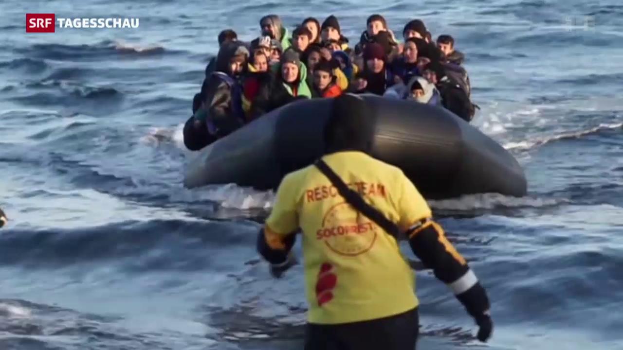 EU-Innenminister beraten über Flüchtlingswelle