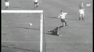Video «Viertelfinal Schweiz - Österreich 1954: Torreichstes Spiel aller Zeiten» abspielen