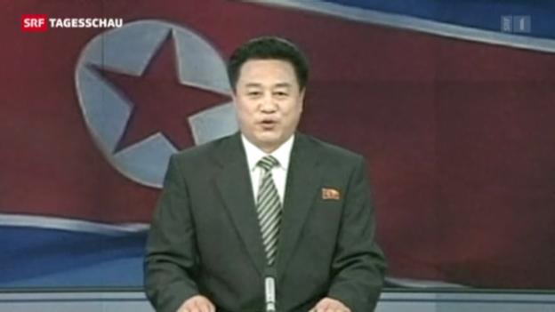 Video «Nordkorea testet Atombombe – weltweite Empörung» abspielen