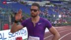 Video «Leichtathletik: Kariem Hussein in Rom» abspielen