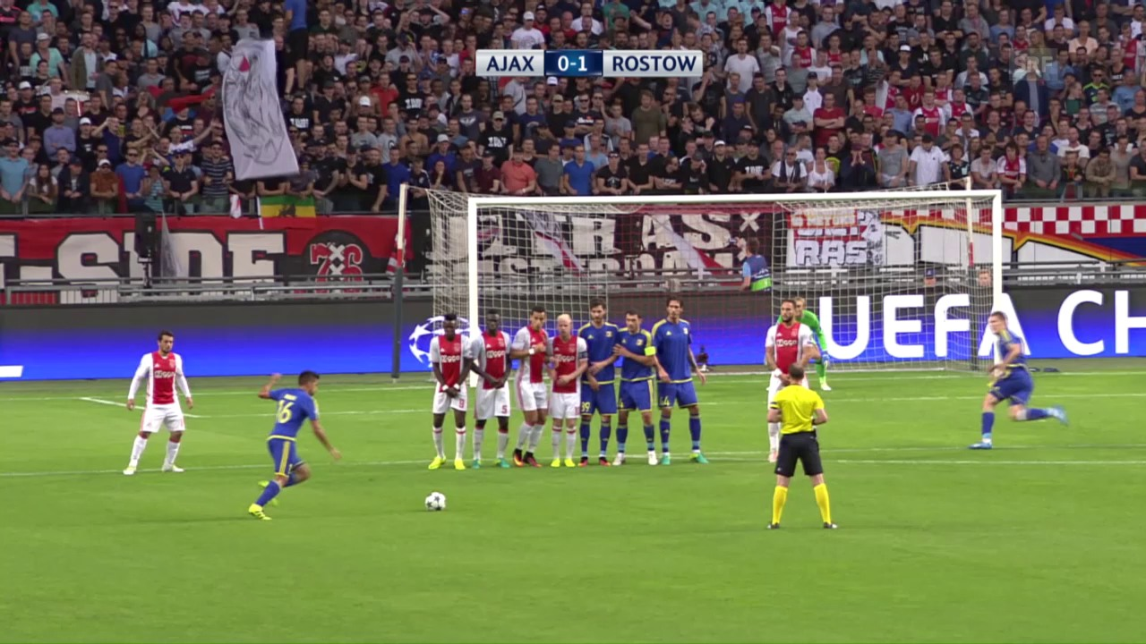Ajax Amsterdam nur mit Remis gegen Rostow
