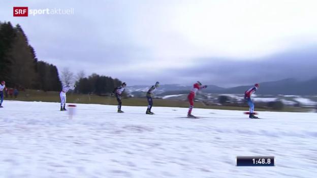 Video «Langlauf: Weltcup-Sprint in Asiago» abspielen