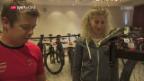 Video «Die Schweizer Mountainbiker vor dem Team-Wettkampf» abspielen