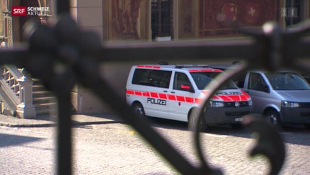 Video «Schwyzer Polizist verurteilt» abspielen