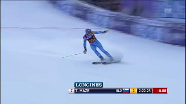Ski: Der 2. Lauf von Tina Maze in Maribor