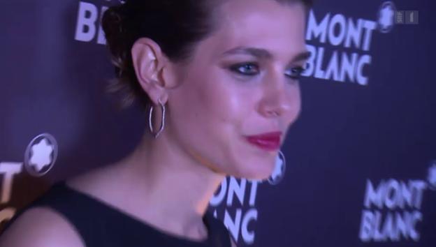 Video «Royales Werbegesicht: Charlotte Casiraghi als Uhrenbotschafterin» abspielen