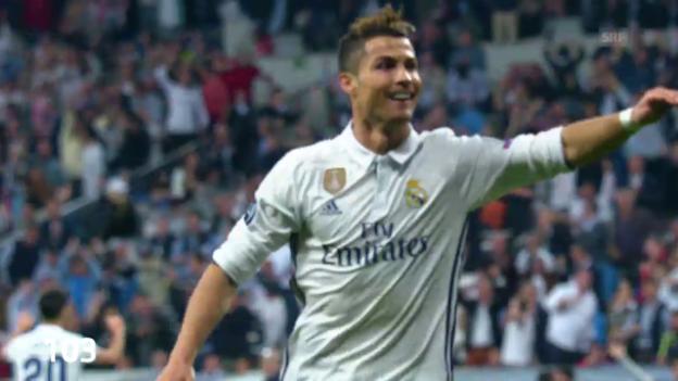 Video «Ronaldos 103 CL-Tore im Schnelldurchlauf» abspielen