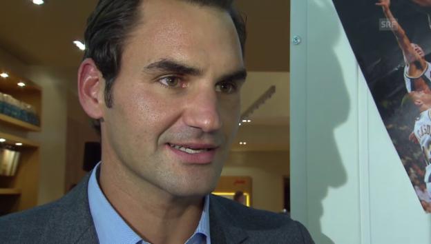Video «Roger Federer spricht über eine Adoption» abspielen