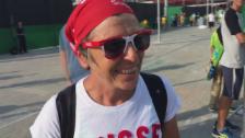Video «Tennisfan Christiane im Interview» abspielen