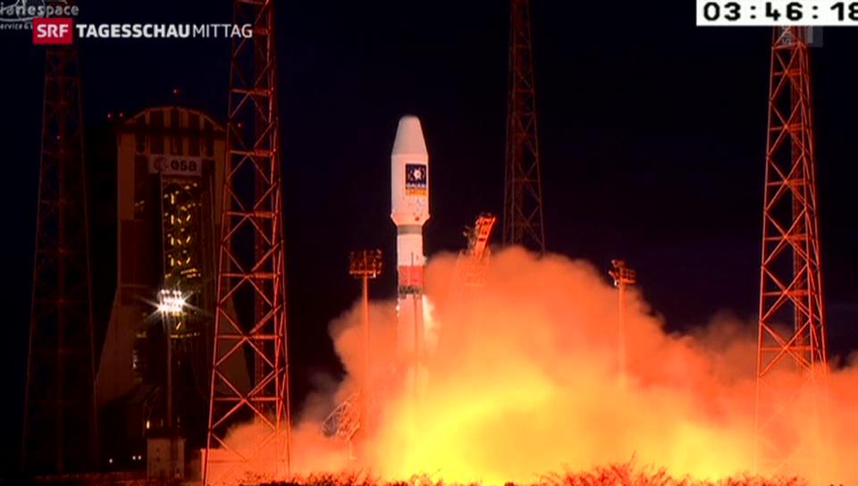 Galileo-Satelliten in Umlaufbahn gebracht