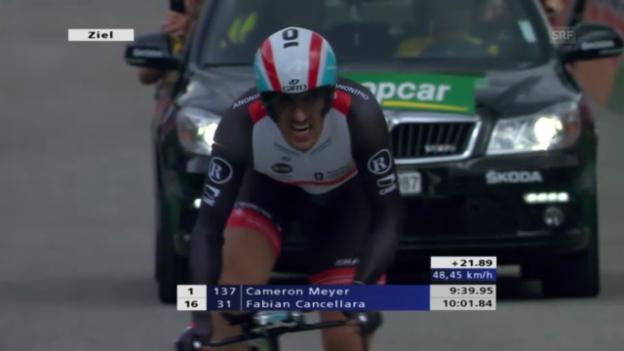 Video «Rad: Zeitfahren Tour de Suisse («sportlive»)» abspielen