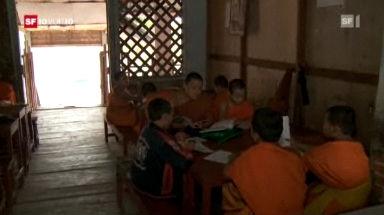 Kindermönche in Luang Prabang