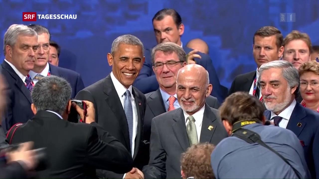 Nato verstärkt Engagement in Afghanistan