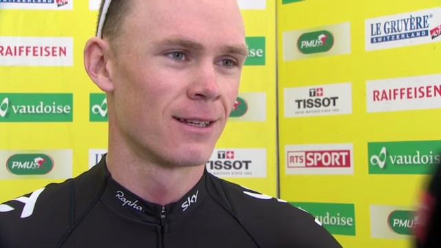 Interview Chris Froome (englisch)