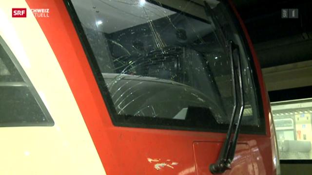 Zugkollision im Bahnhof Genf