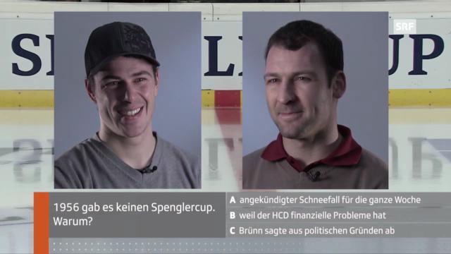 Spengler Cup: Diaz und Plüss im Quiz
