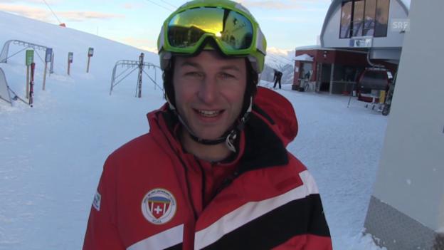 Video «Die Skilehrer aus Scuol stellen sich vor» abspielen