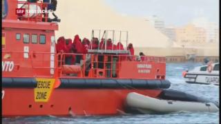 Video «Die Flucht über das Mittelmeer» abspielen