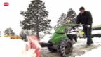 Video «Rekord-Schnee im Flachland» abspielen