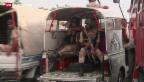 Video «Mehr als 50 Tote bei Terroranschlägen in Pakistan» abspielen