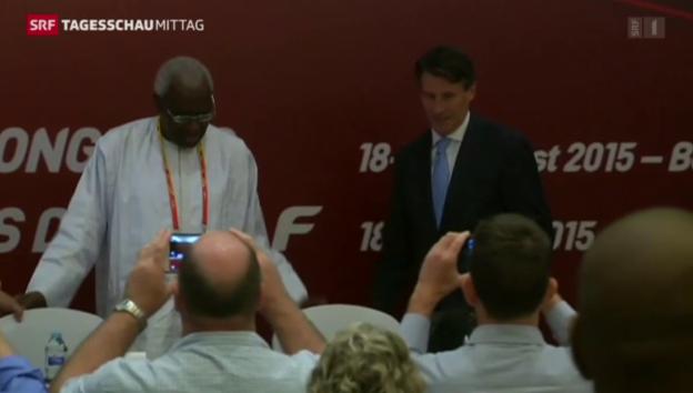 Video «Neuer Präsident des Leichtathletik-Weltverbandes» abspielen