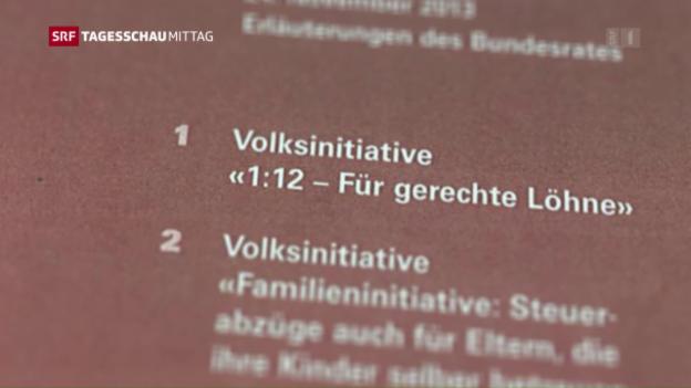 Video «Abstimmungsvorlagen: Der Titel zählt» abspielen