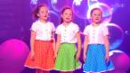 Video «Jael, Alessia und Kiara Vils mit «S'Zündhölzli»» abspielen