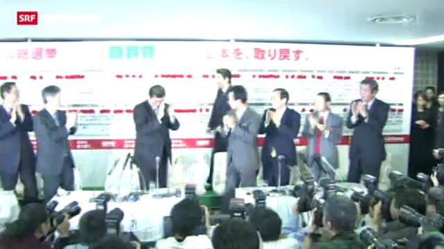 Parlamentswahlen in Japan: Noda wird abgestraft