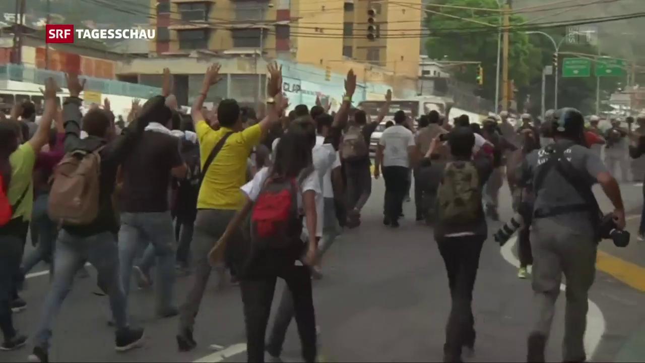 Geschwächte Demokratie in Venezuela