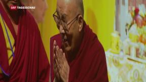 Video «Dalai Lama in der Schweiz» abspielen