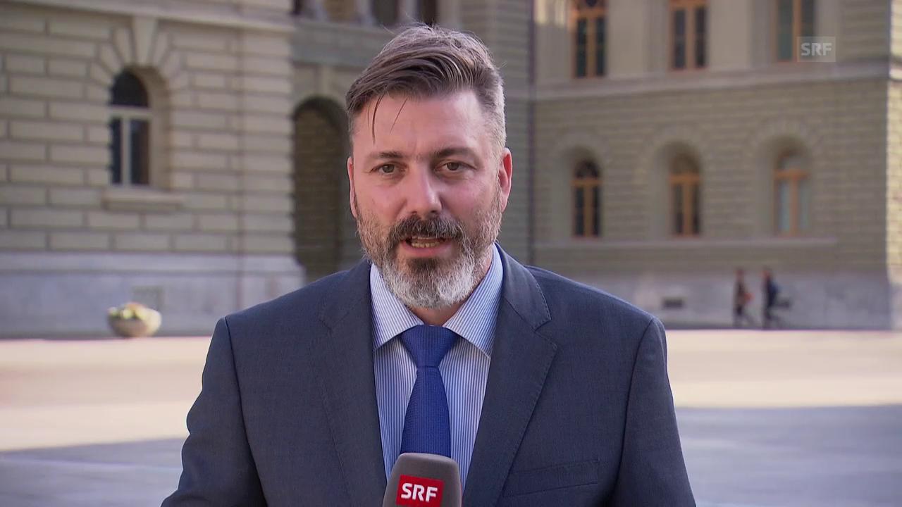 SRF-Bundeshausredaktor Georg Häsler ordnet ein