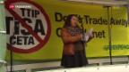 Video «Demonstration in Bern» abspielen