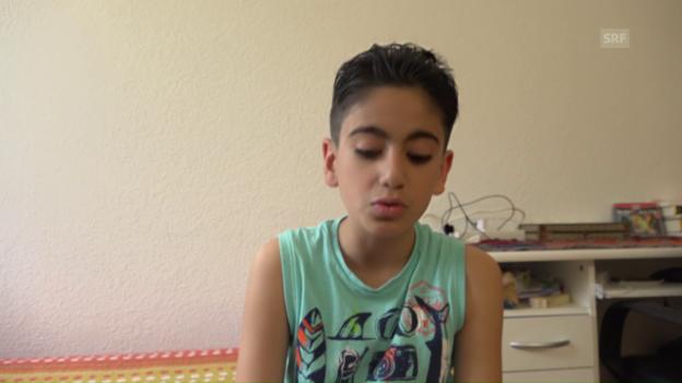 Video «Kusai erinnert sich an die Bombardements.» abspielen