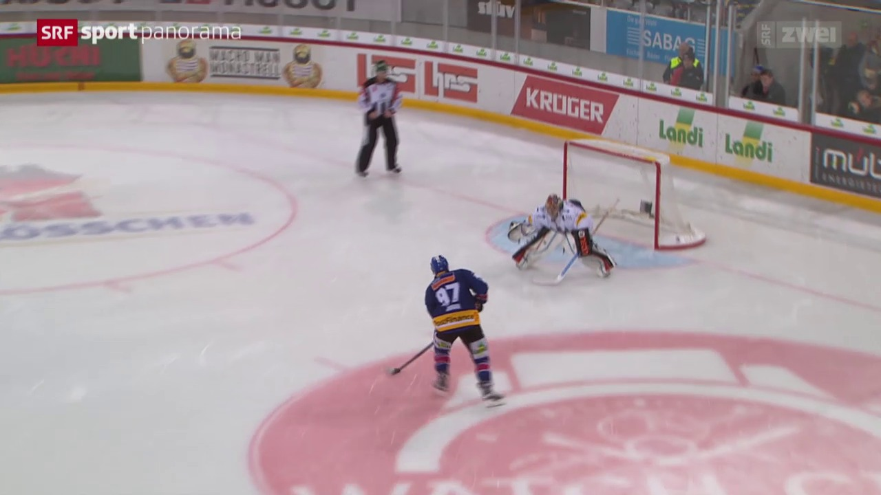 Eishockey: Biel - Freiburg