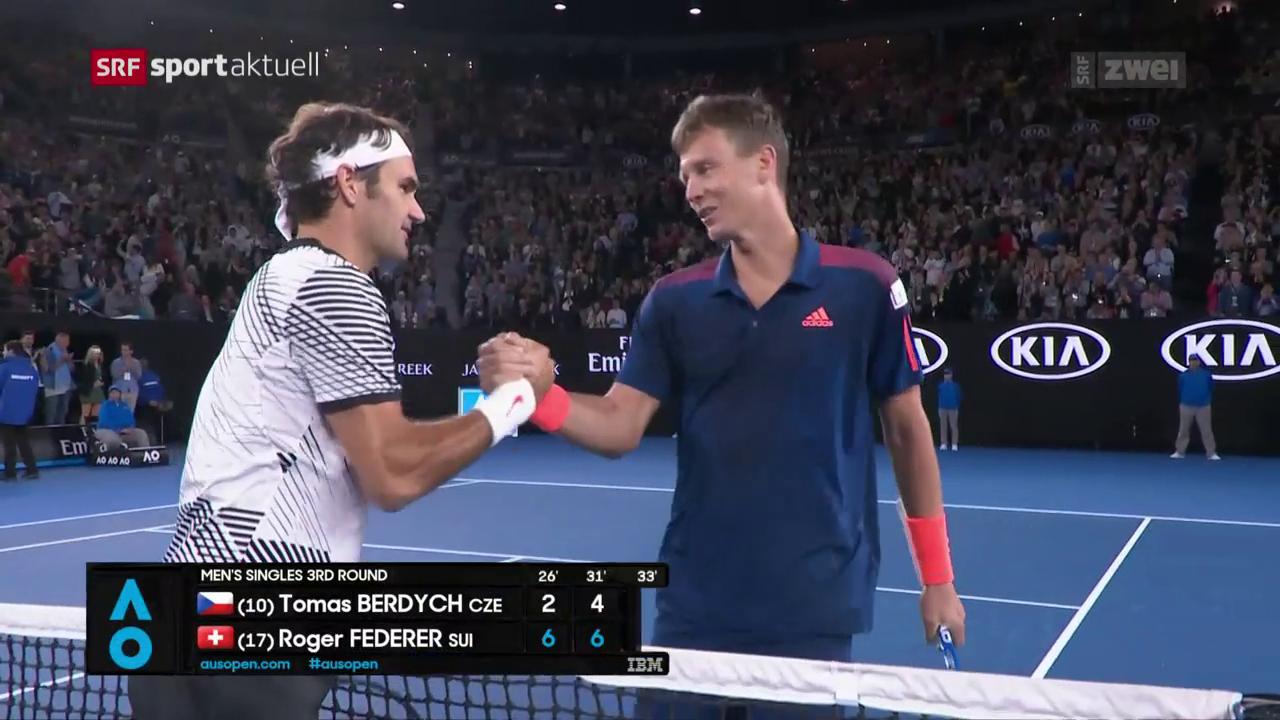 Dauerbrenner: Federer trifft in Miami zum 24. Mal auf Berdych