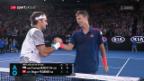 Video «Dauerbrenner: Federer trifft in Miami zum 24. Mal auf Berdych» abspielen