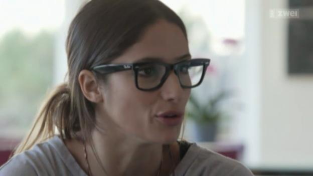 Video «Schweizer «Existenz-Krämpfe»: Melanie Winiger und Max Loong» abspielen