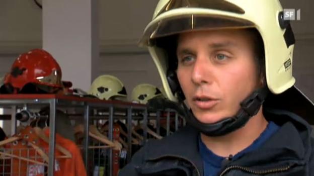 Video «Teil 3: Reto Scherrer als Feuerwehrmann» abspielen