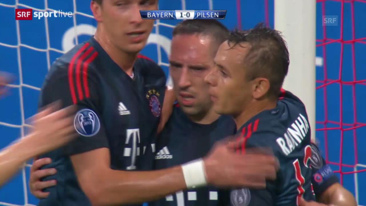 CL: Bayern München - Viktoria Pilsen