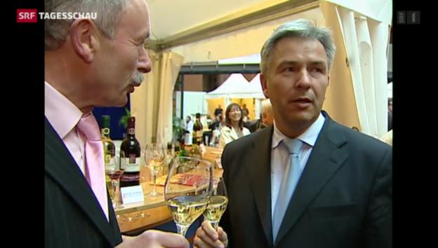 Video «Wowereit tritt als Bürgermeister Berlins zurück» abspielen