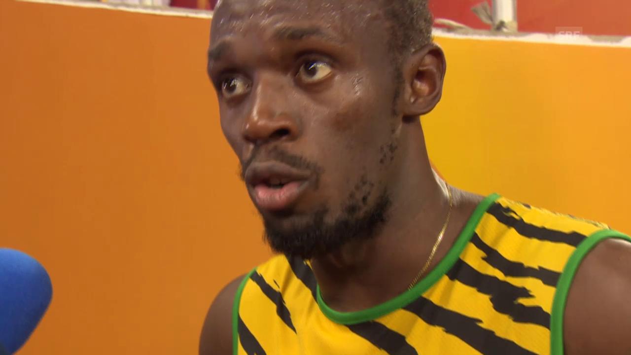 LA: WM in Peking, Interview mit Usain Bolt