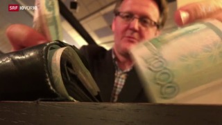 Video «Russischer Rubel auf Talfahrt» abspielen